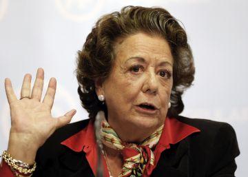 Rita Barberá cobrará 2.300 euros más al mes cuando pase al grupo mixto