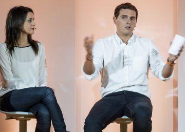 Rivera apela al legado de UPyD e incorpora a Savater a su campaña en Euskadi