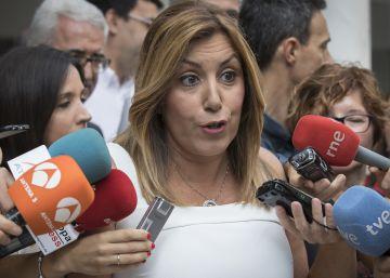 """Susana Díaz: """"Me da vergüenza ajena que Rajoy quiera terceras elecciones"""""""
