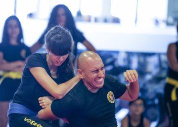 Las mujeres se entrenan contra la violencia machista