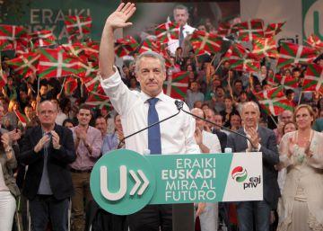 La crisis española en la campaña vasca