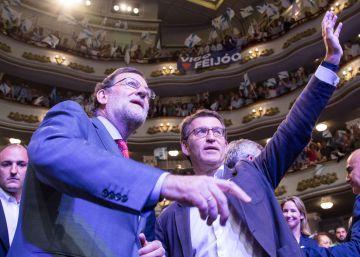 Mariano Rajoy y Alberto Núñez Feijóo, el pasado viernes.
