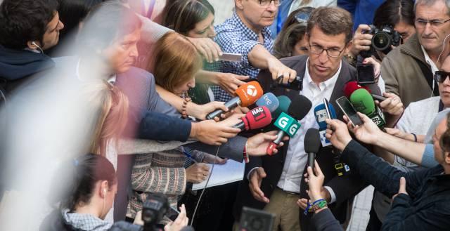 Con el 93% escrutado el PP logra una amplia mayoría absoluta en Galicia