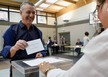 Los resultados electorales en el País Vasco dan la victoria al PNV