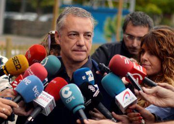 El candidato a lehendakari del PNV, Íñigo Urkullu.