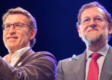 Alberto Núñez Feijóo y Mariano Rajoy, el 22 de septiembre.
