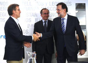 Feijóo no quiere hablar de la sucesión de Rajoy hasta 2020