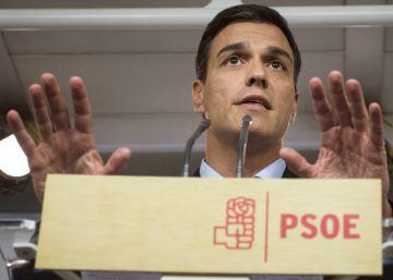 """Sánchez: """"Felipe González está en el bando de la abstención. ¿En cuál está Susana Díaz?"""""""
