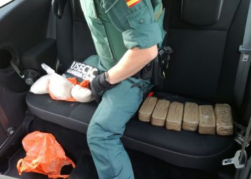 El sur de Galicia encadena el tercer alijo de heroína en 5 meses