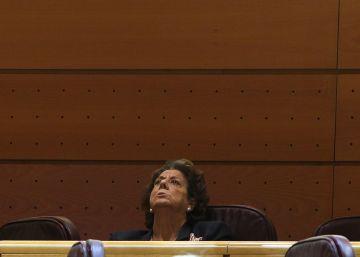 """El PP denuncia una """"cacería"""" contra Barberá en el Senado"""
