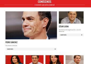 Ejecutiva, Comité Federal, Comisión de Garantías: vocabulario básico del PSOE