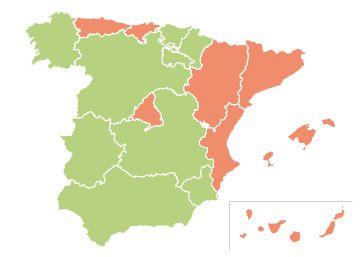 Los catalanes son los que más se divorcian en España
