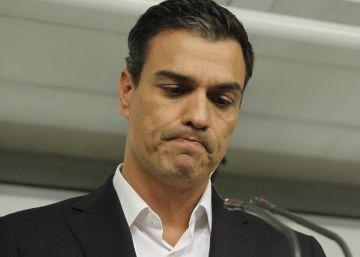 Crisis del PSOE   Sánchez anuncia que dimitirá si el comité federal aprueba la abstención