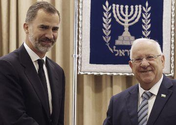 El Rey y Rivlin se invitan a visitar de forma oficial España e Israel