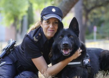 Rosa Chamorro , policía Nacional.