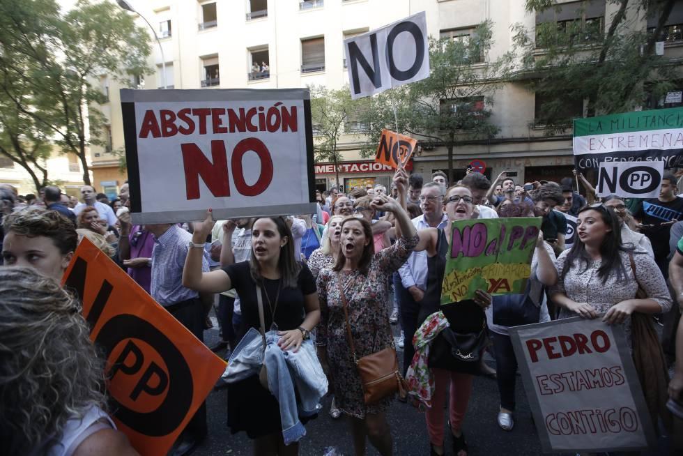 Hora a hora del comité federal del PSOE