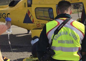 Dos montañeros mueren en accidentes en el Pirineo oscense