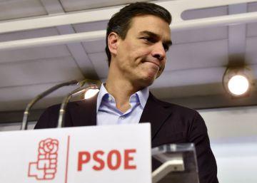 Sánchez seguirá como diputado tras su dimisión