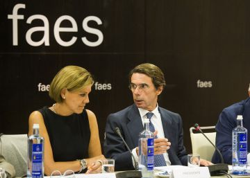 La fundación de Aznar se desvincula del PP