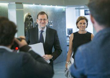 Rajoy lanza su primer contacto con Fernández para evitar las elecciones