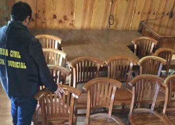 Detenido por robar 260.000 euros en muebles de un hotel
