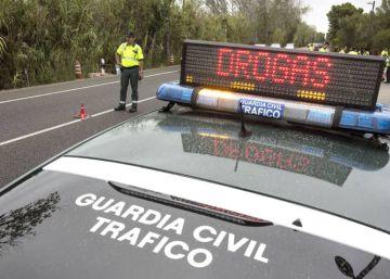 El número de positivos de droga entre conductores, más alto que el de alcohol