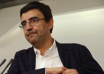 La gestora del PSOE refuerza a Hernando al frente del grupo parlamentario