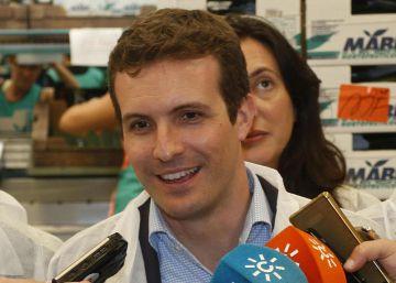 """Casado: """"El PP ha sido implacable contra la corrupción"""""""