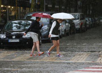 Lluvia en todo el país y 9 provincias en alerta por precipitaciones