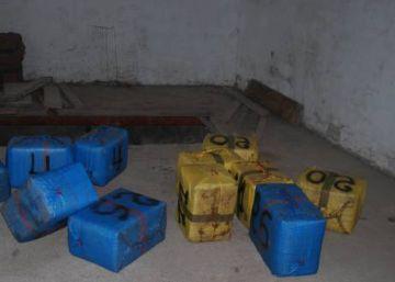 1.800 kilos de hachís incautados en un garaje de la Línea de la Concepción