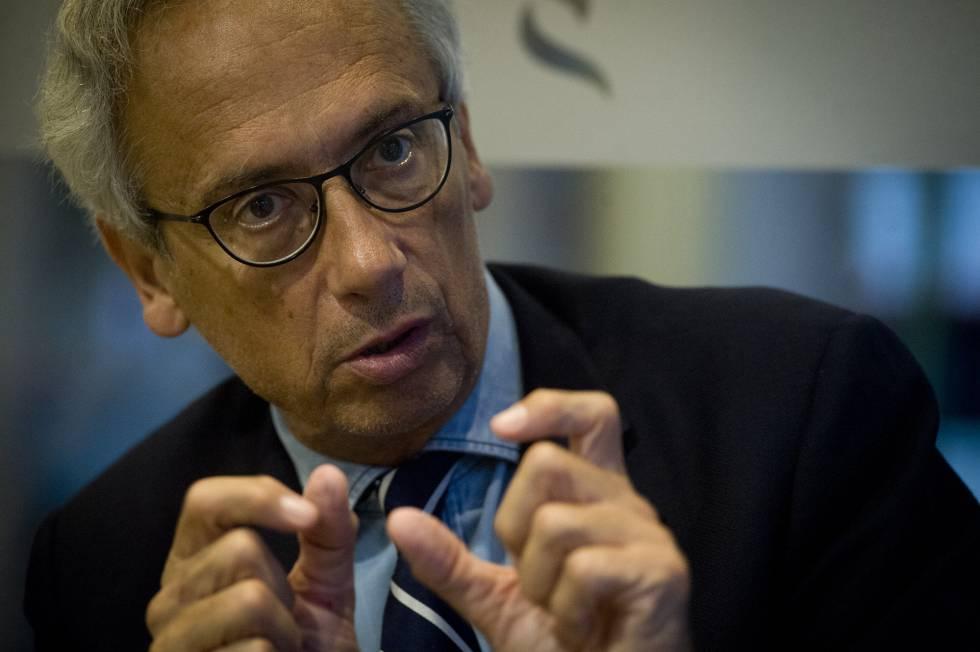 Entrevista al Doctor Bonaventura Clotet, presidente de la Gala contra el SIDA. (Foto: JUAN BARBOSA)