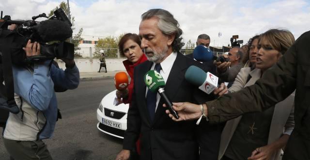 Correa, en la Audiencia Nacional.