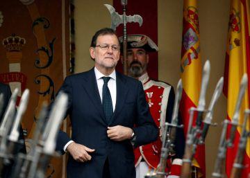 """Rajoy llama a """"trabajar juntos"""" y """"sin rendirse"""" por los objetivos nacionales"""