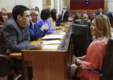 Fernández y Díaz promueven que el grupo socialista se abstenga en bloque