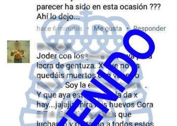 Detenido por insultar en Facebook a los guardias civiles de Alsasua