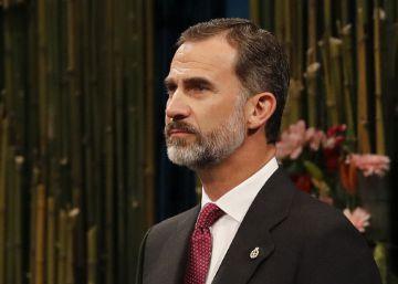 """El Rey reivindica una España """"alejada del pesimismo y el desencanto"""""""