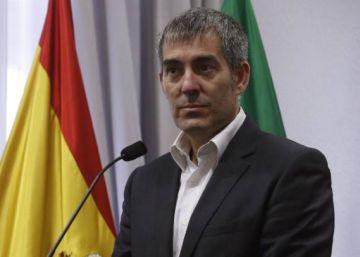 Polémica en Canarias por ondear la bandera independentista