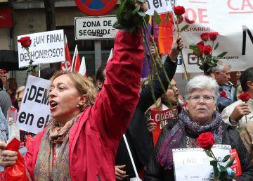 El PSC se prepara para un choque abierto con el PSOE por la abstención
