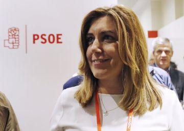 """Susana Díaz: """"El PSOE necesita moral de victoria y unidad"""""""