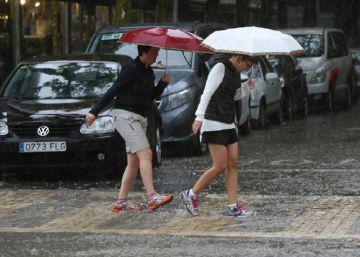 La lluvia pierde intensidad en España aunque deja 12 provincias en alerta