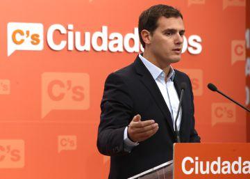 Rivera reprocha al PSOE que no logre reformas a cambio de su abstención ante el PP