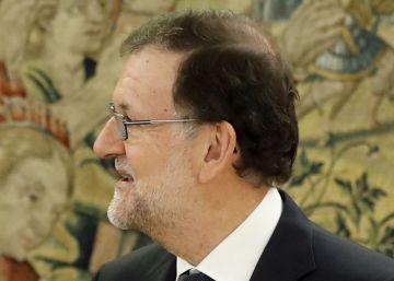 Rajoy acepta someterse a la investidura y agradece al PSOE la abstención