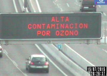 El 20% de los españoles está expuesto a niveles de ozono por encima de lo legal