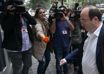 """Iceta: """"El problema del PSOE es España, es Rajoy, no es el PSC"""""""