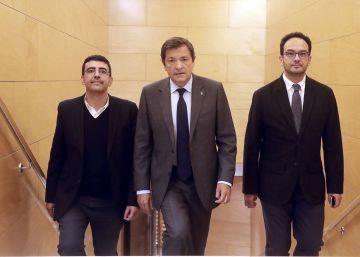 Antonio Hernando recuerda a los 84 diputados del PSOE que todos deben abstenerse
