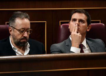 """Ciudadanos celebra el """"cambio de rumbo"""" de Rajoy inspirado por el pacto que firmaron"""