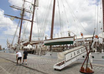 Procesados siete tripulantes del 'Elcano' por tráfico de cocaína