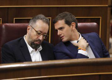 Albert Rivera reacciona al ataque de Pablo Iglesias