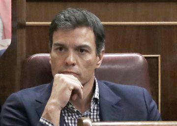Pedro Sánchez anunciará antes del pleno sus planes políticos