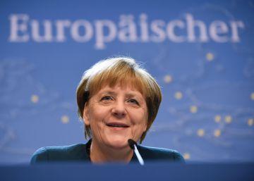 Merkel pide a Rajoy más implicación en el debate sobre UE